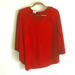 Red Short Costume Cape